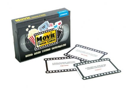 Movie Trivia Card Game